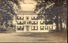 1109 PBKR4318 Hollewandsweg 17: voorzijde van Huize Zandhove , gelegen aan de Hollewandsweg te Hoog-Zuthem, ca. 1920. ...