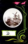 1169 PBKR5460 Schmuckkarte Jugendstil Eekwal met Eekwalmolen Molen de Herstelder, ca. 1900, 1900-00-00