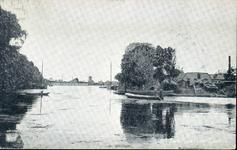 1521 PBKR4375 Zwartewater bij BZZ Bad- en Zweminrichting Zwartewater (op de plaats van de huidige Hofvlietbrug), ca. ...