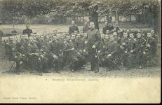 1952 PBKR4446 Het Stedelijk Muziekkorps Zwolle, 1905.Eertijds de Schuttersmuziek onder leiding van Leopold Beers., 1905-00-00