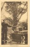 2019 PBKR5591 Boer aan het midwinterhoornblazen boven een waterput, ca 1935., 1935-00-00