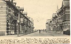 2026 PBKR5598 Prins Hendrikstraat ca 1900. Prentbriefkaart gestuurd door Jan Geesink, Zwolle, gericht aan monsieur F.J. ...