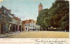 2028 PBKR5600 Grote Kerkplein naar hotel De Beurs (Cafe Billard) gezien., 1900-00-00