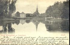 2215 PBKR5074 Links vogeleiland van Gouverneurshuis aan Ter Pelkwijkpark, daarachter woonhuis Oldenhof van Wasserij de ...