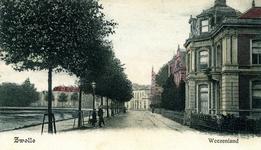 2253 PBKR5661 Klein Wezenland (vanaf 1933 Burgemeester van Roijensingel), gezien naar het oosten. Rechts nr. 5., 1892-00-00