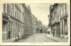 3845 PBKR0742 Gezicht in de Diezerstraat met links de gebouwen van het Provinciehuis Diezerstraat 80, ca.1912. Een ...