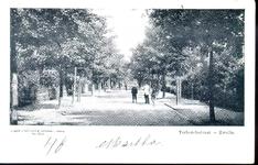 408 PBKR3636 De Terborchstraat gezien vanaf het Stationsplein, ca. 1900., 1900-00-00
