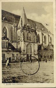 4912 PBKR1515 Grote Markt, Grote Kerk, 1920-1925., 1920-00-00