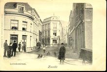 5116 PBKR2118 Gezicht vanaf het kruispunt Luttekestraat-Kamperstraat en Blijmarkt in de richting van het centrum, ca. ...