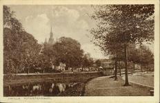 5508 PBKR2763 De stadsgracht en de Potgietersingel met de Burgemeester Van Roijenbank (in 1922 tgv 25-jarig ...