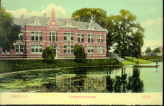 5674 PBKR2245 Menno van Coehoornsingel 16: Flevogebouw, ca. 1915. Het Flevogebouw werd in 1898 gebouwd als Practische ...