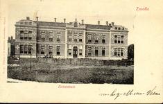 5708 PBKR2821 Rhijnvis Feithlaan, Sophia Ziekenhuis, ca. 1900Het gemeentelijk Sophia Ziekenhuis is voortgekomen uit de ...