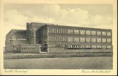 5827 PBKR2255 Ambachtsschool op de hoek van de Mimosastraat / hoek Hortensiastraat in de wijk Assendorp, gezien vanuit ...