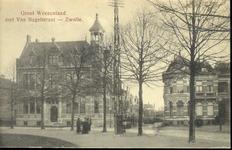5846 PBKR2274 Klein Weezenland 9-I, ca. 1915, (vanaf 1933 Burgemeester van Roijensingel), in 1914 gebouwd als kantoor ...