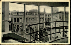 6066 PBKR2871 Rhijnvis Feithlaan, Sophia Ziekenhuis, 1936-1938.Interieur trappenhuis, voltooid 1935 naar ontwerp van ...