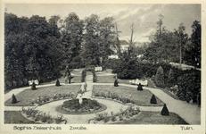 6071 PBKR2876 Rhijnvis Feithlaan, Sophia Ziekenhuis, 1925.Tuin achter de nieuwbouw 1915 gezien parallel aan de Rhijnvis ...