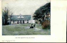 6318 PBKR0066 Haersterveerweg 23, theehuis Agnietenberg, 1895-1904. In 1717 was al op deze plaats een theeschenkerij ...