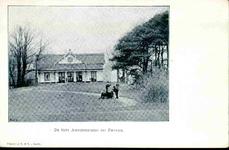 6319 PBKR0067 Haersterveerweg 23, theehuis Agnietenberg, 1895-1904. In 1717 was al op deze plaats een theeschenkerij ...