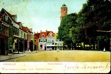 6610 PBKR1251 Links, nog vóór de Papenstraat, de koper- en blikslagerij van M. Troostwijk, die hier sedert 1878 ...