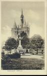 6726 PBKR2990 Het Van Nahuysplein met de fontein uit 1892, geschonken aan burgemeester Jhr. W.C.Th. van Nahuys in ...