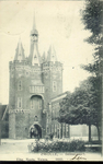 6732 PBKR2996 De Sassenpoort, gezien vanaf het Van Nahuysplein. De kaart is in 1906 afgestempeld., 1900-00-00