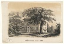 1115 -TP000979 Huis de Hemelsche Berg in 1858., 1858