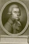 582 -TP000160 Portret van de dichter Rhijnvis Feith (1753-1824), borstbeeld naar rechts, in ovaal, voetstuk zonder ...