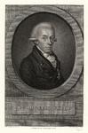 926 -TP000327 Portret van de dichter Rhijnvis Feith (1753-1824), borstbeeld naar rechts, met ridderorde, voetlijst met ...