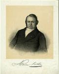 31787 Portret van Nicolaas Beets, geboren 1814, Hervormd predikant te Utrecht (1854-1874), hoogleraar in de theologie ...