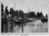 64054 Gezicht over het Merwedekanaal te Utrecht; uit het noordwesten met op de achtergrond de Rijksmunt.
