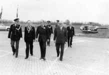 90439 Afbeelding van het afscheid van de commandant van het district Utrecht van de Rijkspolitie, jhr. B. W. F. de ...