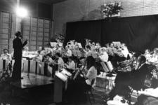91723 Afbeelding van het herfstconcert door de muziekvereniging De Bazuin uit De Meern in de gemeentelijke ...