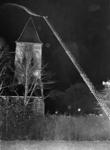 90738 Afbeelding van een brandweeroefening van de brandweerkorpsen Vleuten, De Meern, Maarssen, Harmelen en Douwe ...