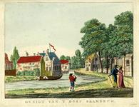 206116 Gezicht op Baambrugge aan de Angstel vanuit het zuidoosten.