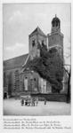 123816 Gezicht op de Nicolaikerk (Nicolaaskerkhof 8) te Utrecht.