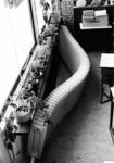 89777 Afbeelding van een vermoedelijk als gevolg van vandalisme gesprongen radiator in de Centrumschool (Centrumlaan 1) ...
