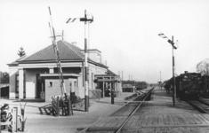 161836 Gezicht op het N.S.-station Maarsbergen te Maarsbergen.