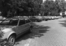 154542 Gezicht op de P+R-parkeerplaats bij het N.S.-station Den Haag Mariahoeve te Den Haag.