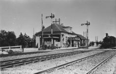 161835 Gezicht op het N.S.-station Maarsbergen te Maarsbergen.