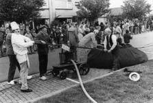 90723 Afbeelding van de festiviteiten ter gelegenheid van het 50-jarig bestaan van de Vrijwillige Brandweervereniging ...