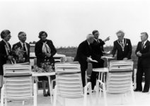 90804 Afbeelding van de Oranjefeesten en de viering van het 60-jarig bestaan van de Oranjevereniging De Meern, tijdens ...