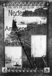 167088 Afbeelding van een affiche van Chemin de Fer du Nord voor snelle treinverbindingen tussen Amsterdam, Brussel en ...