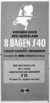 167101 Afbeelding van een affiche van de N.S. voor een 8-daags abonnement kriskras door heel Nederland .