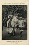 129363 Afbeelding van R.W.F. van Bijlandt, deelnemer aan de maskeradeoptocht te Utrecht ter gelegenheid van het 53e ...