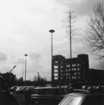 600462 Afbeelding van de sloop van het complex van de Jaarbeurs (Vredenburg) te Utrecht, met op de voorgrond de ...