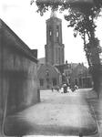 Gezicht op de Hervormde of Grote Kerk van Loenen