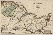 1; Kaart, plattegrond, van het Hoogheemraadschap van Zeeburg en de Diemerzeedijk, oud stadsbezit Weesp