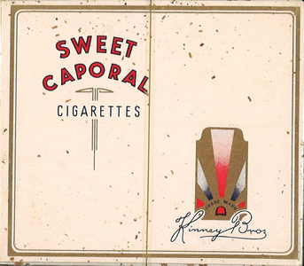 150226_14 Canadese Sweet Caporal cigarettes. Uit collectie Mulder, archiefnr. 1497. Bij de Bevrijding door Canadese ...