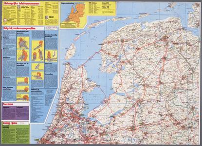 WAT001020326 Wegenkaart van Nederland.