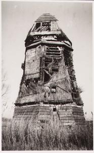 WAT001000676 Ruïne van de molen 'De Grote Molen'Poldermolen 'De Grote Molen'Ligging: langs de Jaagweg aan de ...